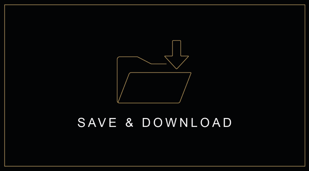 Save and Download